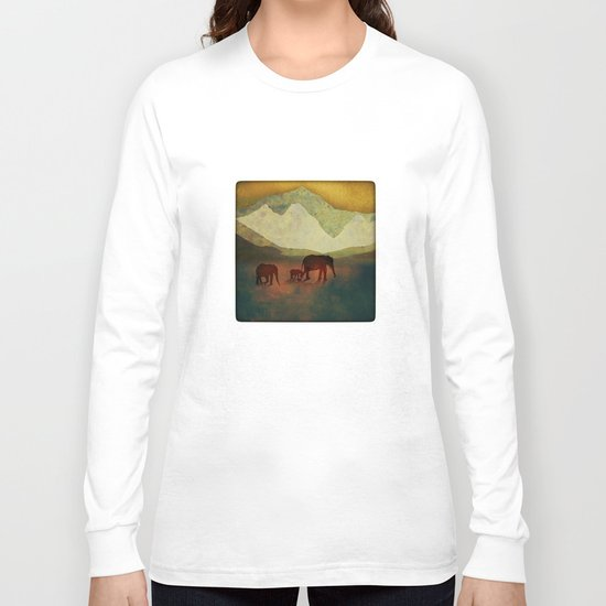 In Search of Water Long Sleeve T-shirt