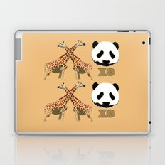 XOXO wild animals Laptop & iPad Skin