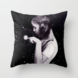 stars are delicate Throw Pillow