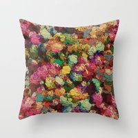 romance Throw Pillows featuring Romance by Glanoramay