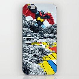 Mondrian Z iPhone Skin