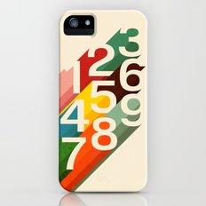 Retro Numbers Slim Case iPhone (5, 5s)