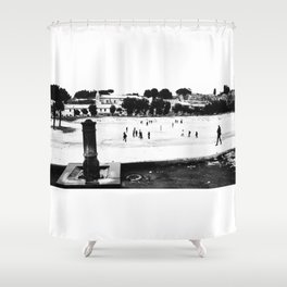 Rome Circo Massimo Shower Curtain