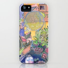 You're Planted in My Heart iPhone Case