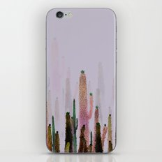cactus water color colors iPhone & iPod Skin