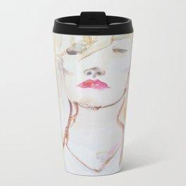 Blonde Nouveau Metal Travel Mug