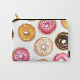 Donut pattern in watercolor Carry-All Pouch