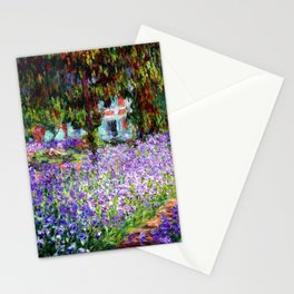 """Claude Monet """"Irises in Monet's Garden at Giverny"""", 1900 Stationery Cards"""