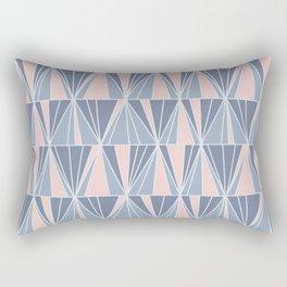 Ade Blue Rectangular Pillow