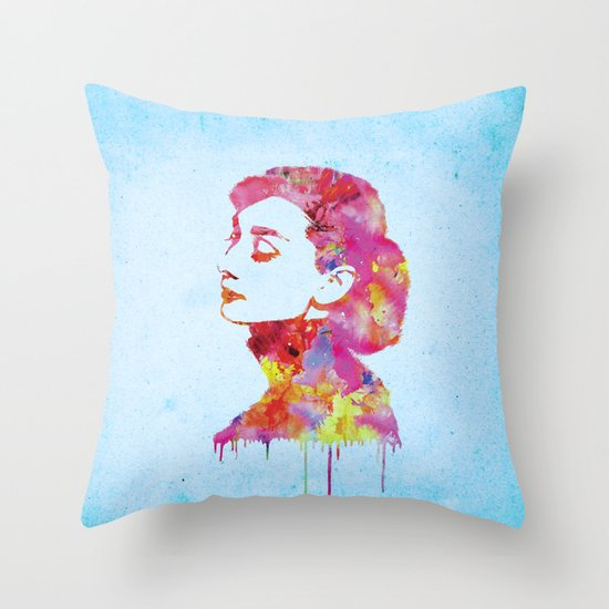 Audrey .2 Throw Pillow