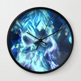 Fire Reflection Wall Clock