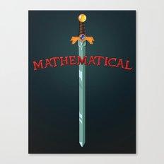 Mathematical Canvas Print