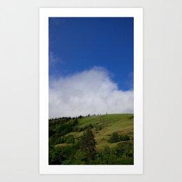(#71) Spring Rain Clouds Art Print