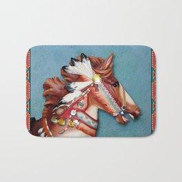 Indian Pony Head Bath Mat