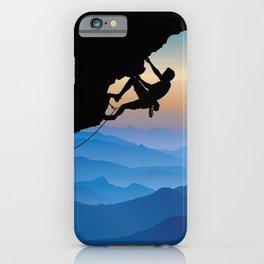 Keep Climbing iPhone Case