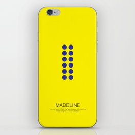 Madeline iPhone Skin