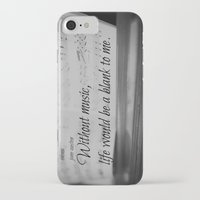 jane austen iPhone & iPod Cases featuring Music Jane Austen by KimberosePhotography