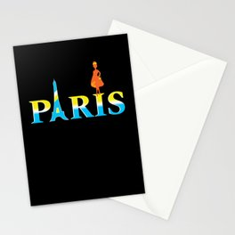 Paris City Stationery Cards