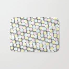 Blocks Pattern Bath Mat