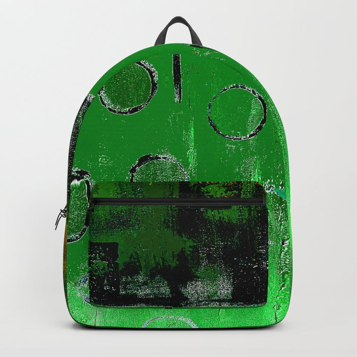 EMERALD GREEN FOREST Backpack