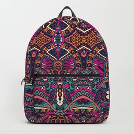 Purple Tribal Backpack