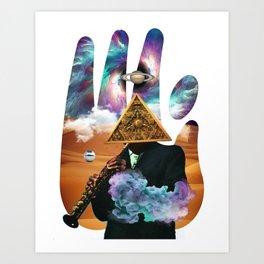 SADAHTAY_spaceJazz Art Print