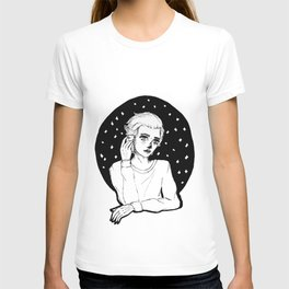 Lonely boy. By Ane Teruel T-shirt