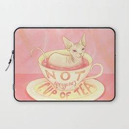 Not everyone's cup of tea - Sphynx Cat Laptop Sleeve