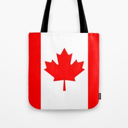 Canadian National flag, Authentic color and 3:5 scale version Tote Bag