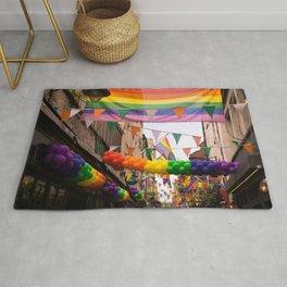 LGBT Pride Street Scene Rug