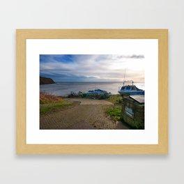 Robin Hoods Bay Framed Art Print