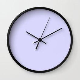 Simply Periwinkle Purple Wall Clock