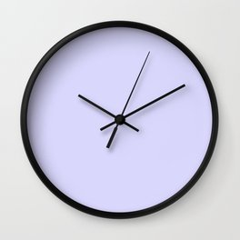 Simply Periwinkle Purple Wall Clock
