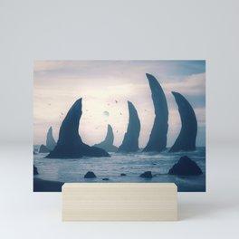 Sea Bones Mini Art Print