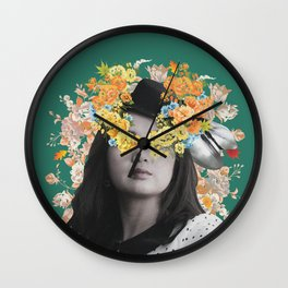 Beverly Green Wall Clock