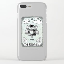 The Follower Clear iPhone Case