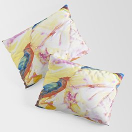 Abstraction - Piece of warm - by LiliFlore Pillow Sham