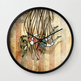 Where love went to die or american woman Wall Clock