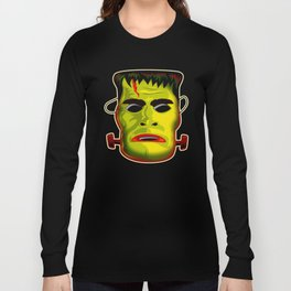 Frankenstein Monster Mask Long Sleeve T-shirt