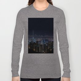 Hong Kong- Victoria Peak Long Sleeve T-shirt