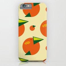 orange pattern iPhone 6s Slim Case