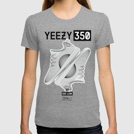YEEZYS 350 Boost Sneakers Art T-shirt