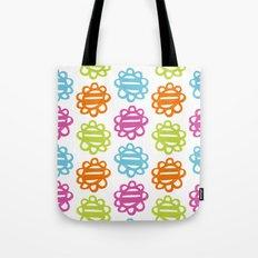 Fun Flowers multi-coloured Tote Bag