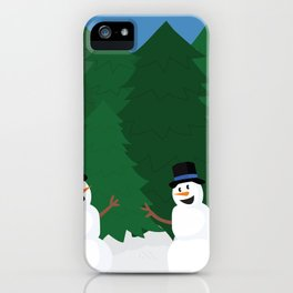 Snowball Fight iPhone Case