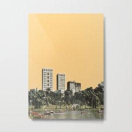 October Sun Metal Print