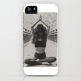 Bridge Yoga iPhone Case