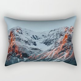 Burnt Mountains Rectangular Pillow