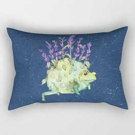 Flora Toad Rectangular Pillow