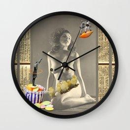 My Flying Saucer Dream Wall Clock
