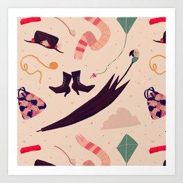 Practically Perfect Pattern Art Print